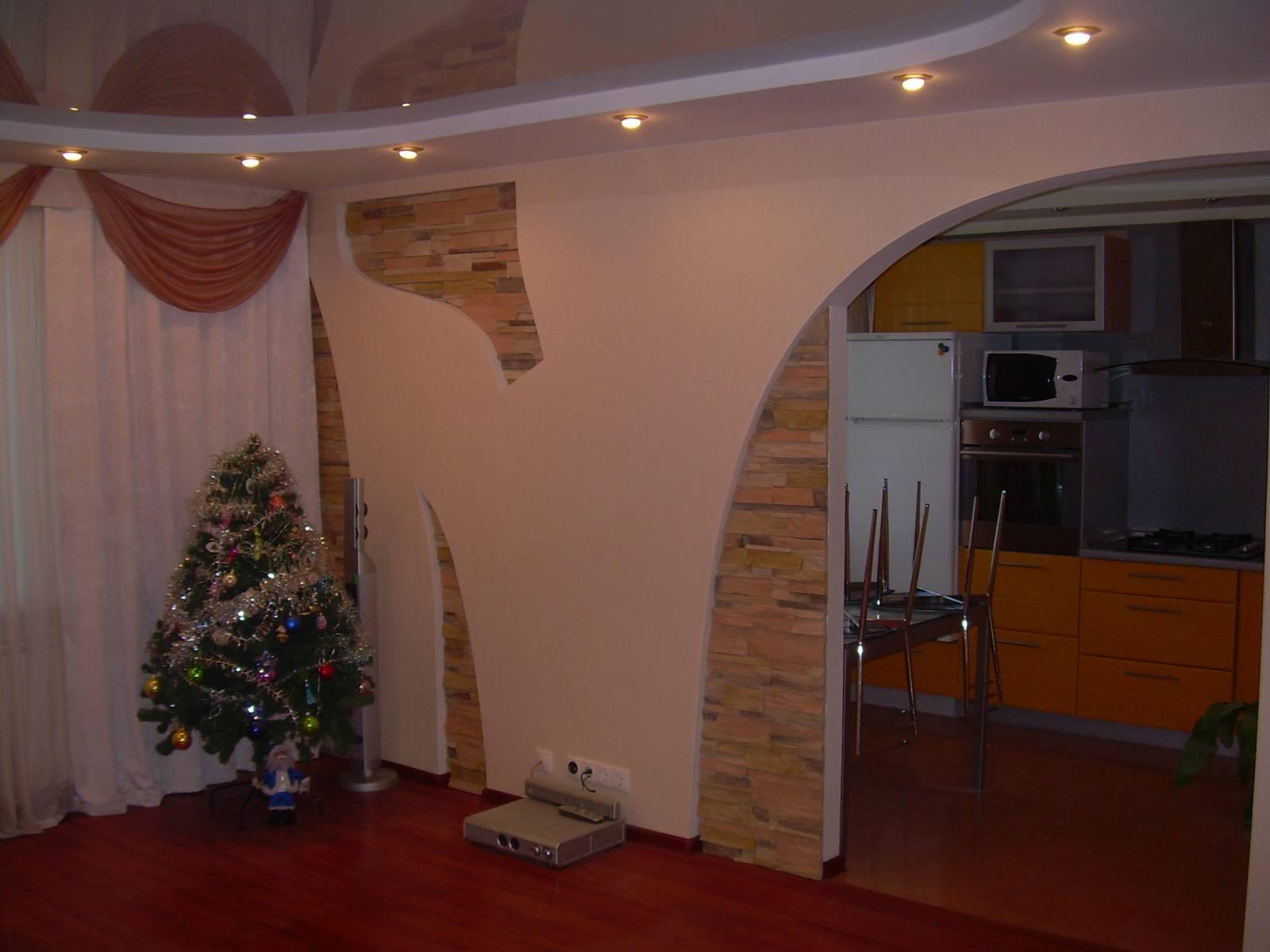Делаем арки из гипсокартона своими руками фото